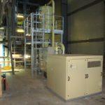 Centrale d'aspiration électrique